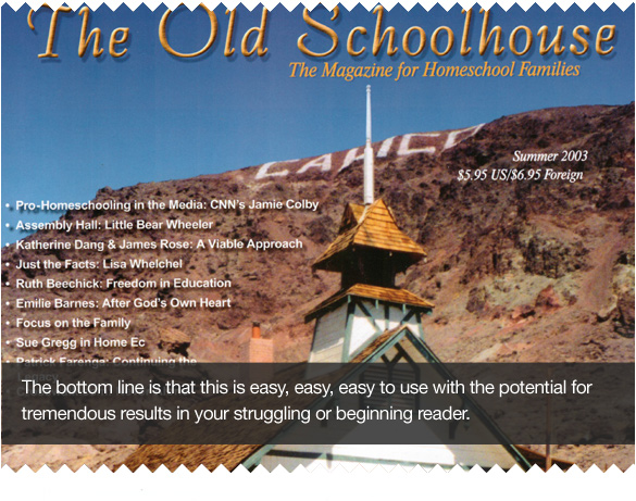 What The Old Schoolhouse Magazine has to say about the Maloney Method